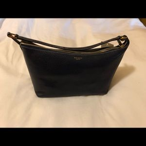 Kate Spade navy leather handbag